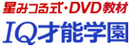 星みつる式DVD教材・IQ才能学園