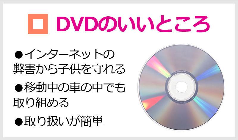 DVDのいいところ